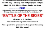 The Big Quiz & Battle of the Sexes