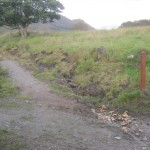 This is where the path starts in Corran