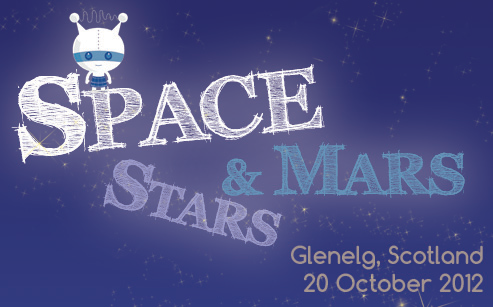 Space Stars and Mars event Glenelg 20 October 2012